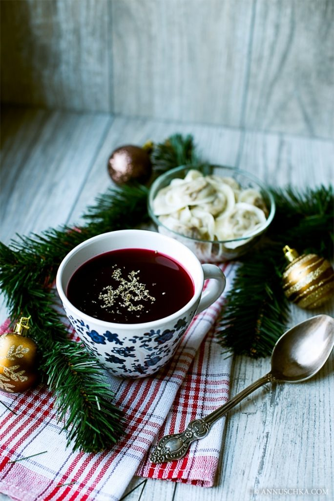 Plish Borsch with stuffed dumplings | Holiday recipe | Christimas | New Year's Eve | ADA favorite recipes
