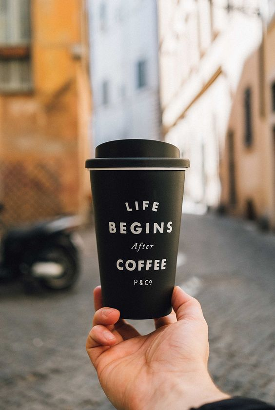 Travel mug | Coffee | Friends | Life begins after Coffee