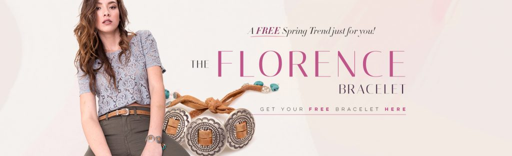 Florence Bracelet - Leather bracelet