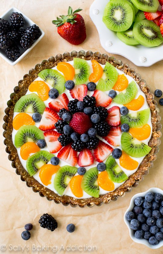 Healthy-Greek-Yogurt-Fruit-Tart-5-Healthy Labor Day Recipes to Try This Weekend