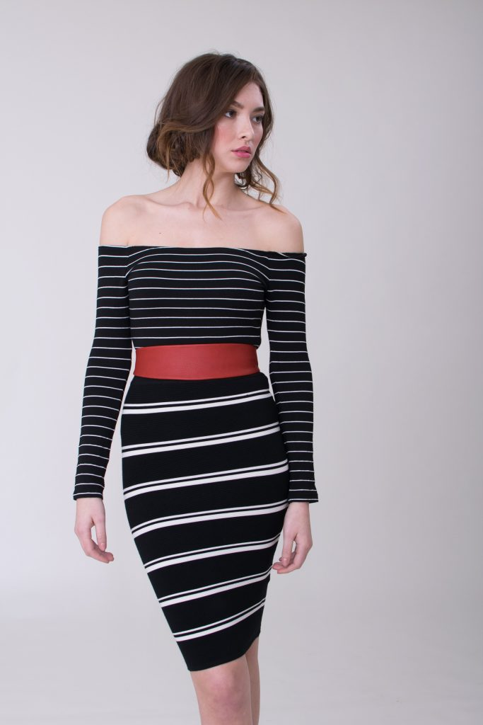 date-night-outfits-valentine-day-pop-of-color-stripes