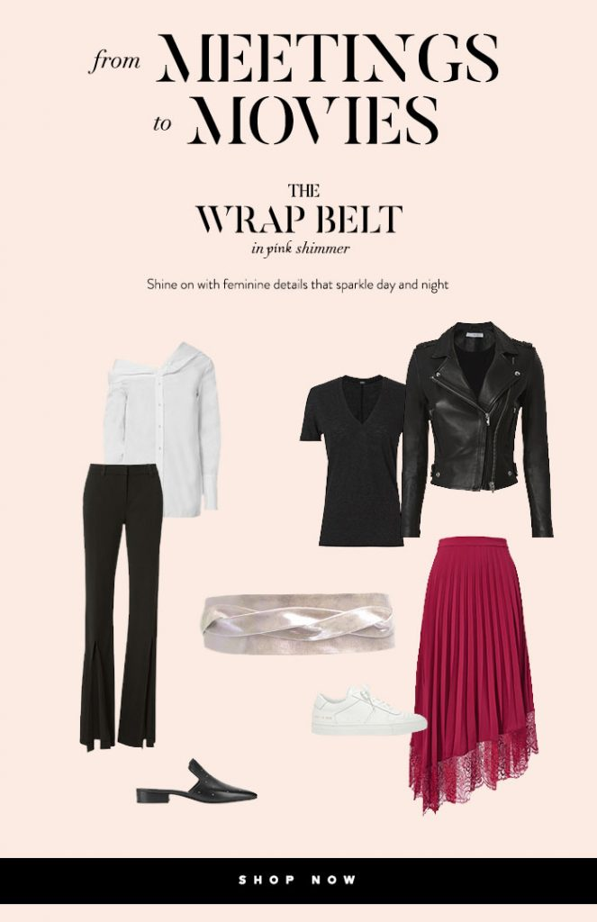 From meetings to movies wrap belt obi belt