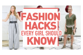 Fashion Hacks Every Girl Should Know *life changing*