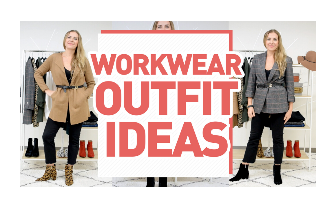 Workwear Outfit Ideas | + How to Style Belts