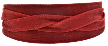 red python wrap belt