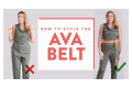 How To Style The Ava Wrap Belt