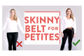 5+ Ways To Style a Skinny Belt For Petite Women