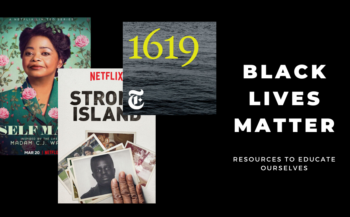 Black Lives Matter - Resources to educate ourselves